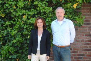 Karin Heinrichs und Hans-Josef Thelen. Foto: Heinrichs Gruppe